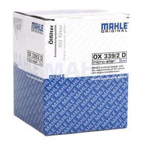 MAHLE ORIGINAL PEUGEOT 407 Sistema de ventilación del cárter (OX 339/2D)