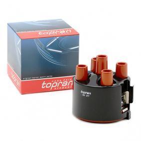 TOPRAN 100 277 Zündverteilerkappe OEM - 027905207A AUDI, SEAT, SKODA, VW, VAG, FIAT / LANCIA, BRÜCK GERMANY günstig