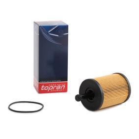Golf V Хечбек (1K1) TOPRAN Маслен филтър 108 902