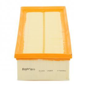 TOPRAN Vzduchovy filtr 109 788