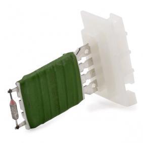 Populární Odpor vnitřního ventilátoru TOPRAN 112 217 pro SKODA OCTAVIA 1.6 TDI 105 HP