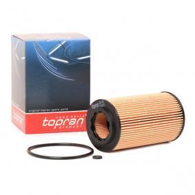 Astra G Berlina (T98) TOPRAN Filtro de aceite 205 849