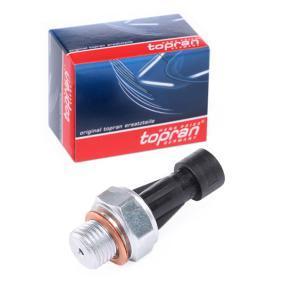 PANDA (169) TOPRAN Oil pressure sending unit 206 957