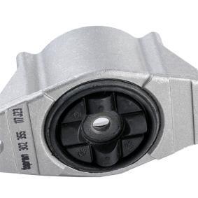 TOPRAN FORD FOCUS Copela de amortiguador y cojinete (302 355)