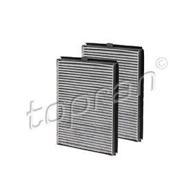 TOPRAN 500 218 Filter, Innenraumluft OEM - 2207985 BMW, FORD, BILSTEIN, BOSCH, MAXGEAR günstig
