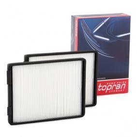 Filter, Innenraumluft TOPRAN Art.No - 500 222 OEM: 64318391198 für BMW, ALPINA kaufen