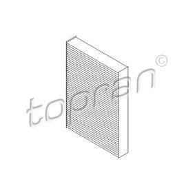 TOPRAN Innenraumfilter 700 130