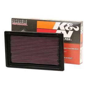K&N Filters Autoteile Luftfilter 33-2075