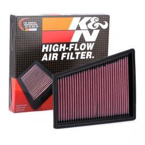 MEGANE III Coupe (DZ0/1_) K&N Filters Luftfilter 33-2849