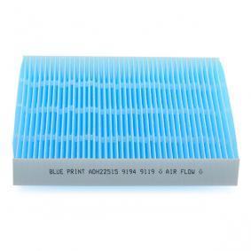 CIVIC VIII Hatchback (FN, FK) BLUE PRINT Pollen filter ADH22515