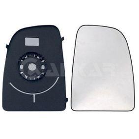 ALKAR 6402922 Spiegelglas, Außenspiegel OEM - 8151LH CITROËN, FIAT, PEUGEOT, CITROËN/PEUGEOT günstig