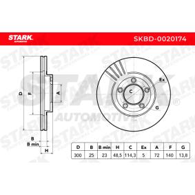 Filtro de aire (SKBD-0020174) fabricante STARK para MAZDA 3 (BK) año de fabricación 03/2004, 156 CV Tienda online