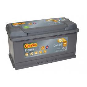 Starterbatterie CENTRA Art.No - CA1000 OEM: 8E0915105D für VW, MERCEDES-BENZ, OPEL, BMW, AUDI kaufen
