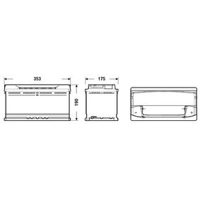 4E0915105 für VW, AUDI, SKODA, SEAT, HONDA, Starterbatterie CENTRA (CA1000) Online-Shop