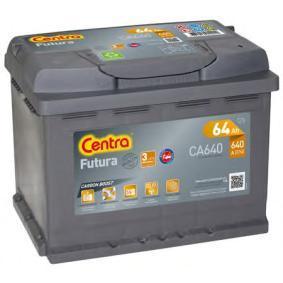 Starterbatterie CENTRA Art.No - CA640 OEM: 1J0915105AC für VW, OPEL, BMW, AUDI, FORD kaufen