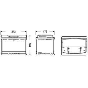 4515410102 für VW, MERCEDES-BENZ, SKODA, SMART, CHEVROLET, Starterbatterie CENTRA (CA640) Online-Shop