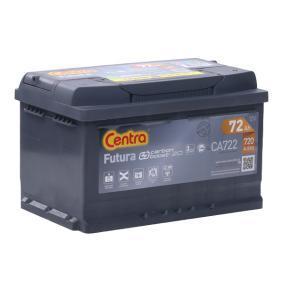 Starterbatterie CENTRA Art.No - CA722 OEM: 71751136 für FIAT, ALFA ROMEO, LANCIA kaufen