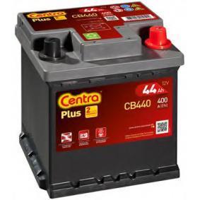 Starterbatterie CENTRA Art.No - CB440 OEM: 51778210 für FIAT, ALFA ROMEO, LANCIA, ABARTH, FSO kaufen