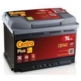 CENTRA Starterbatterie CB740