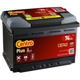 CENTRA VW TOURAN Batterie (CB740)