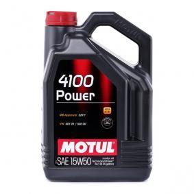 ISUZU D-MAX Motorenöl 100273 von MOTUL Original Qualität