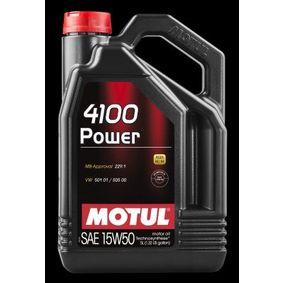 SAE-15W-50 Engine oil 100273 MOTUL order