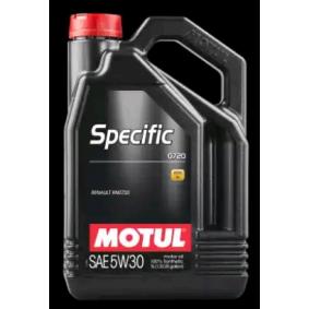 MOTUL ulei de motor SPECIFIC, 0720, 5W-30, 5I 59010, ACEAC4 cunoștințe de specialitate
