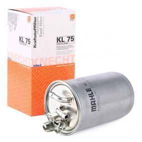 7M0127401B für VW, SKODA, SEAT, Kraftstofffilter MAHLE ORIGINAL (KL 75) Online-Shop