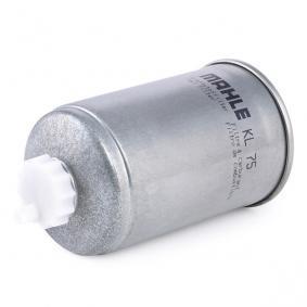 MAHLE ORIGINAL Kraftstofffilter (KL 75) niedriger Preis