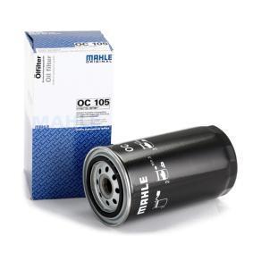 MAHLE ORIGINAL Peças: Filtro de óleo OC 105