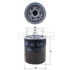 MAHLE ORIGINAL Generatore di impulsi albero a gomito (OC 274)