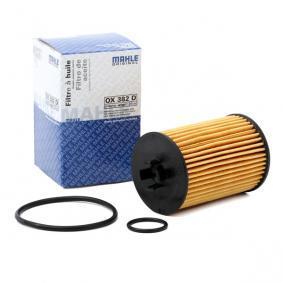 A2661800009 für MERCEDES-BENZ, Ölfilter MAHLE ORIGINAL (OX 382D) Online-Shop