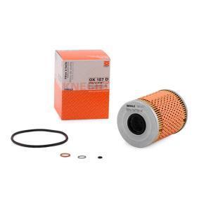 MAHLE ORIGINAL Pièces détachées Filtre à huile OX 187D