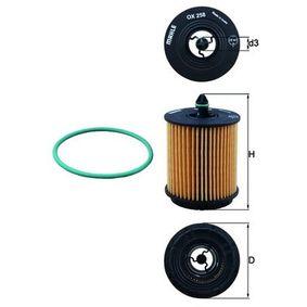 MAHLE ORIGINAL Filtro recirculación de gases (OX 258D)