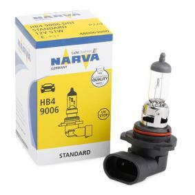 48006 Bulb, spotlight from NARVA quality parts