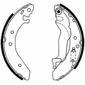Комплект спирачни челюсти C04015ABE ABE