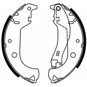 Bremsbackensatz ABE Art.No - C0F020ABE OEM: 77362452 für OPEL, FIAT, ALFA ROMEO, LANCIA kaufen