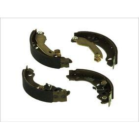 PANDA (169) ABE Drum brake shoe support pads C0F024ABE