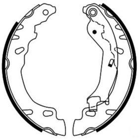 Trommelbremsen set C0F029ABE ABE