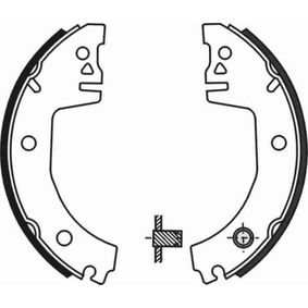 Bremsbackensatz ABE Art.No - C0S001ABE OEM: 007440071A für VW, AUDI, SKODA, SEAT kaufen