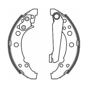 Bremsbackensatz ABE Art.No - C0W001ABE OEM: 867609527 für VW, AUDI, SKODA, SEAT, VAUXHALL kaufen