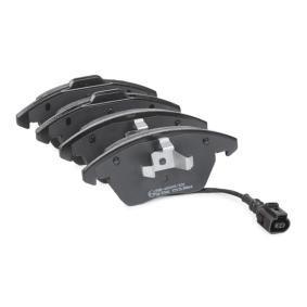 ABE Bremsbelagsatz, Scheibenbremse 3C0698151A für VW, AUDI, SKODA, SEAT, PORSCHE bestellen