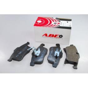 Bremsbelagsatz, Scheibenbremse ABE Art.No - C1X033ABE OEM: 1605996 für OPEL, CHEVROLET, SAAB, VAUXHALL, HOLDEN kaufen