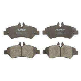 ABE Bremsbelagsatz, Scheibenbremse 2E0698451 für VW, MERCEDES-BENZ, AUDI, SKODA, SEAT bestellen