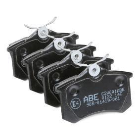 VW PASSAT 1.9 TDI 130 PS ab Baujahr 11.2000 - Bremsbeläge (C2W001ABE) ABE Shop