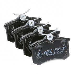ABE Bromsbeläggssats, skivbroms 1H0698451D för VW, AUDI, FORD, SKODA, SEAT köp