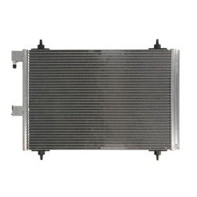 THERMOTEC Kondensator, Klimaanlage 6455AT für PEUGEOT, CITROЁN, VOLVO, PIAGGIO, DS bestellen