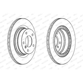 FERODO Bremsscheibe (DDF1549) niedriger Preis
