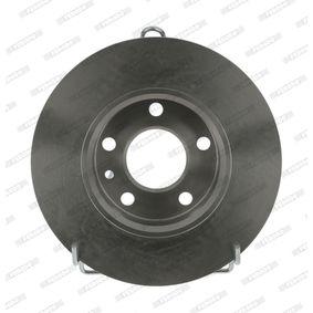 Bremsscheibe FERODO Art.No - DDF818 OEM: 60670804 für FIAT, ALFA ROMEO kaufen