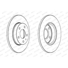 FERODO Bremsscheibe 60670804 für FIAT, ALFA ROMEO bestellen